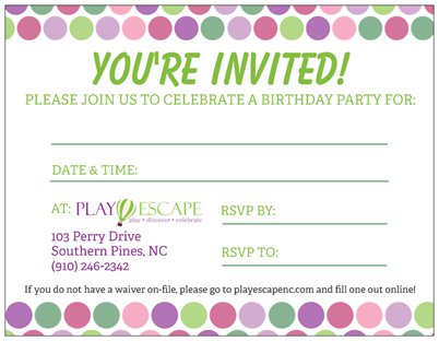 Party Invitations!